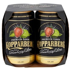 KOPPARBERG STRAWBERRY & LIME 4PK 330ml CANS