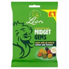 LION £1 MIDGET GEMS