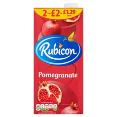 RUBICON £1.29 OR 2 FOR £2 POMEGRANATE