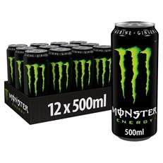 MONSTER ENERGY DRINK ORIGINAL 500ml (12 PACK)