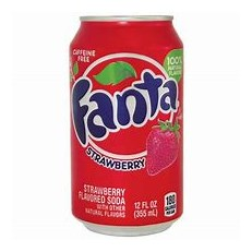 USA FANTA STRAWBERRY