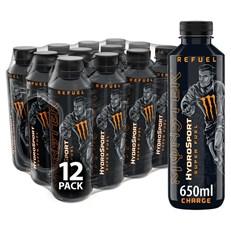 MONSTER HYDROSPORT CHARGE SPORTS ENERGY DRINK  £1.49 .650ml (12 BOTTLES)