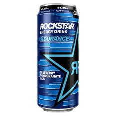 ROCKSTAR ENERGY XDURANCE FULLY LOADED BBERRY PGRANATE ACAI 500ml £1.35 12 CANS