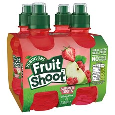 FRUIT SHOOT 4PACK  SUMMER FRUITS