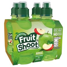 FRUIT SHOOT 4PACK  APPLE
