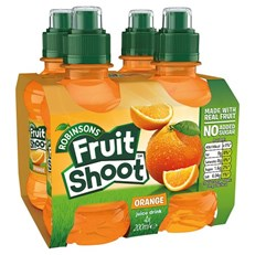 FRUIT SHOOT 4PACK ORANGE