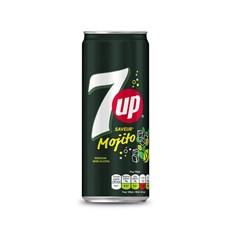 7UP SAVEUR MOJITO FULL SUGAR 33cl (24 PACK)