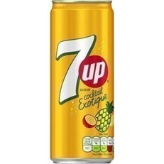 7UP SAVEUR COCKTAIL EXOTIQUE FULL SUGAR 33cl (24 PACK)