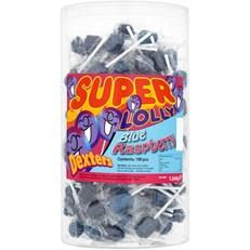 DEXTERS 5p BLUE R PAINT BRUSH LOLLY