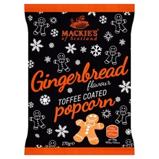 MACKIES LARGE GINGERBREAD POPCORN