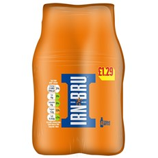 BARRS IRN BRU £1.29 6X4PACK 250ML