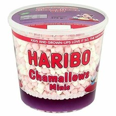 **HARIBO TUBS MINI CHAMALLOWS 475G
