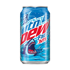 USA MOUNTAIN DEW FROST BITE 355ml (12 PACK)