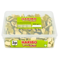 HARIBO TUBS 2p TERRIFIC TURTLES