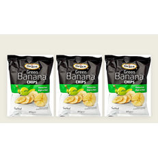 GRACE GREEN BANANA CHIPS 85g (3 PACK)