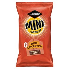 MINI CHEDDARS 6PACK RED LEICESTER