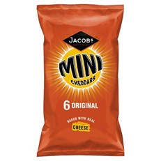 MINI CHEDDARS ORIGINAL 6PACK
