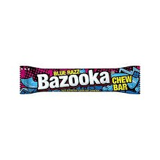 BAZOOKA CHEW BAR BLUE RASPBERRY