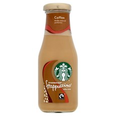 STARBUCKS FRAPPUCCINO COFFEE 250ml GLASS BOTTLE (8 pack)