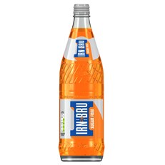 BARRS GLASS £1 750ML SUGAR FREE IRN BRU
