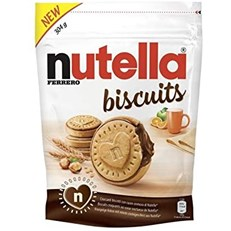 NUTELLA BISCUITS SINGLE BAG 304g 21 MARCH DATED