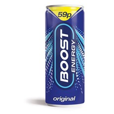 BOOST ENERGY 49P CANS