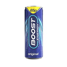 BOOST ENERGY DRINK ORIGINAL 24 CANS 59P