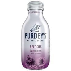PURDEYS REFOCUS DARK FRUITS 330ml (12 PACK)