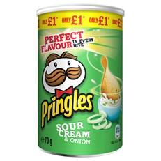 PRINGLES £1 SOUR CREAM