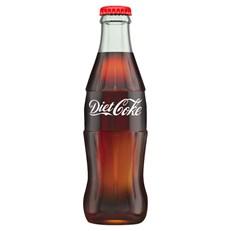 DIET COKE GLASS BOTTLES 330ml (24 PACK)