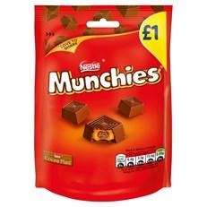 NESTLE MUNCHIES £1 BAGS 81g (10 PACK)