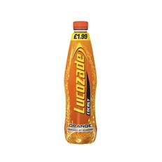 LUCOZADE ENERGY ORANGE £1.99