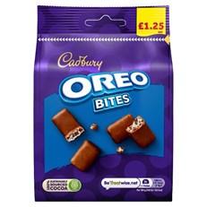 CADBURYS OREO BITES £1 95g (10 PACK)