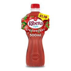 RIBENA STRAWBERRY £1.09 2 FOR £2