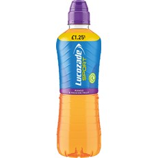 LUCOZADE SPORT £1.092FOR£2 MANGO & PASSION FRUIT