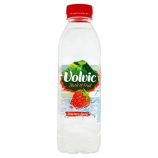 VOLVIC TOUCH OF FRUIT STRAWBERRY 500ml (12 PACK)