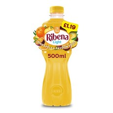 RIBENA £1.09/2FOR£1 PINEAPPLE & PASSION