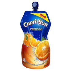 CAPRI SUN 99p POUCH ORANGE