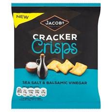 JACOBS CRACKER SALT & VINEGAR