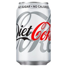 DIET COKE CANS 330ml GB (24 PACK)