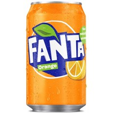 EU FANTA ORANGE CANS