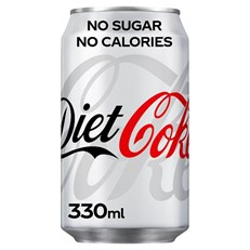DIET COKE 330ml CANS (24 PACK)