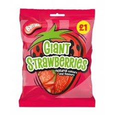 BARRATT £1 STRAWBERRIES BAGS