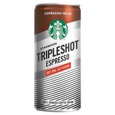 STARBUCKS TRIPLESHOT ESPRESSO ICED COFFEE 300ml (12 pack)