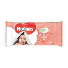 HUGGIES BABY WIPES - SOFT SKIN