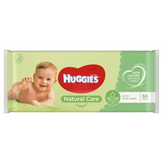 HUGGIES BABY WIPES - NATURAL CARE