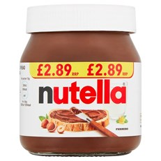 NUTELLA HAZELNUT CHOCOLATE SPREAD 350g £2.89 (6 PACK)