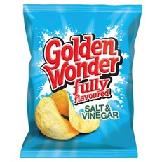 GOLDEN WONDER 32's SALT & VINEGAR