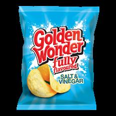 GOLDEN WONDER 32's SALT & VINEGAR