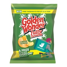 GOLDEN WONDER 32's CHEESE & ONION